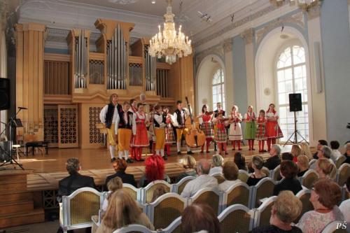 slavnostní koncert vsále B. Martinů vPraze, k65. výročí školy, květen 2012