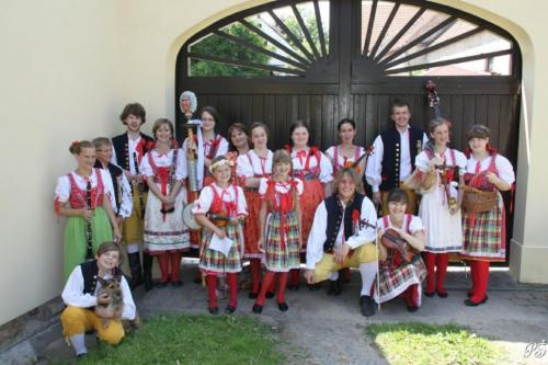 Bolevecká náves - červen 2012