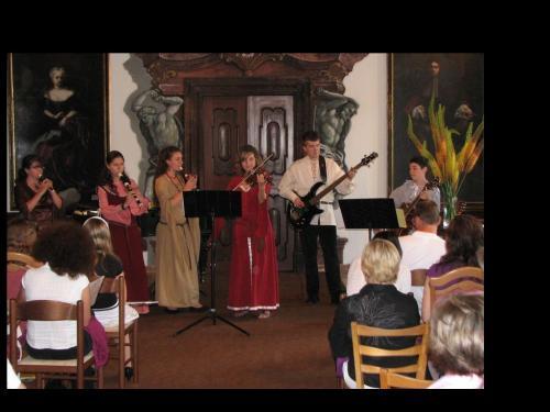 Žákovský koncert - Manětín červen 2010