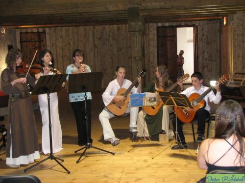 Žákovský koncert - Švihov červen 2009