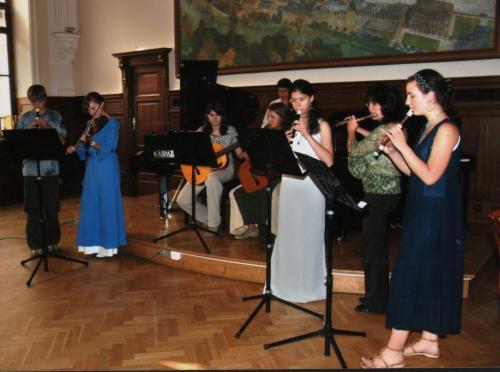 60 let ZUŠ - Plzeňský Prazdroj Koncert partnerských škol, červen 2008