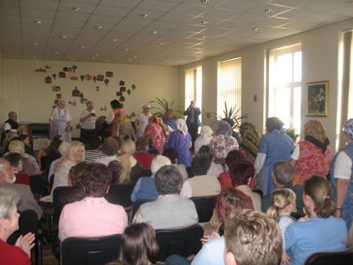 Koncertní sál - r. 2008, oslavy 60.výročí založení ZUŠ