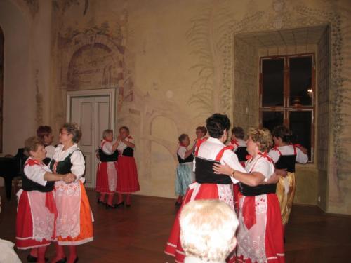 zámek Nebílovy - r. 2006, 40.výročí Klubu důchodců
