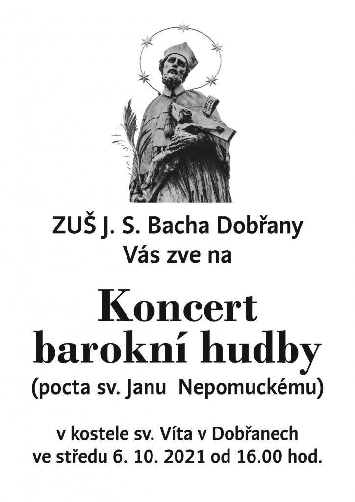 Koncert - pocta sv. J. Nepomuckému 2
